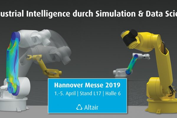 Industrial Intelligence durch Simulation & Data Science auf der Hannover Messe